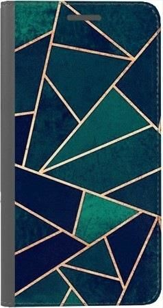 Portfel DUX DUCIS Skin PRO geometria turkus na Huawei Honor 9 Lite