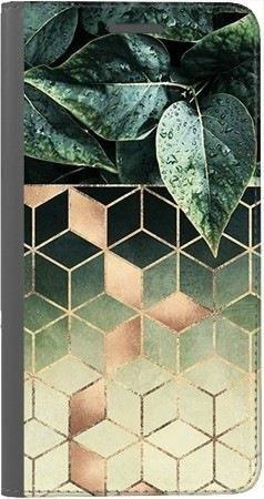 Portfel DUX DUCIS Skin PRO geometryczna roślina na Xiaomi Redmi Note 5a