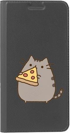 Portfel DUX DUCIS Skin PRO koteł z pizzą na Huawei Honor 10