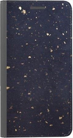 Portfel DUX DUCIS Skin PRO lastriko granatowe na Huawei Honor 10