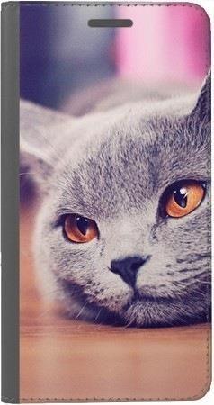 Portfel DUX DUCIS Skin PRO lazy cat na Huawei Honor 10
