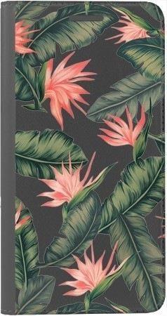 Portfel DUX DUCIS Skin PRO liście z kwiatami na Huawei Honor 10