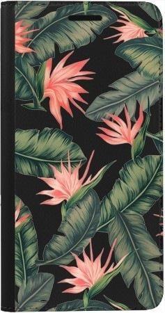 Portfel DUX DUCIS Skin PRO liście z kwiatami na Samsung Galaxy A70