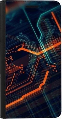 Portfel DUX DUCIS Skin PRO pomarańczowe łącza na Samsung Galaxy A31