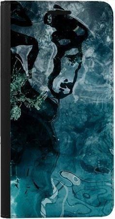 Portfel DUX DUCIS Skin PRO turkusowa woda na Samsung Galaxy A70