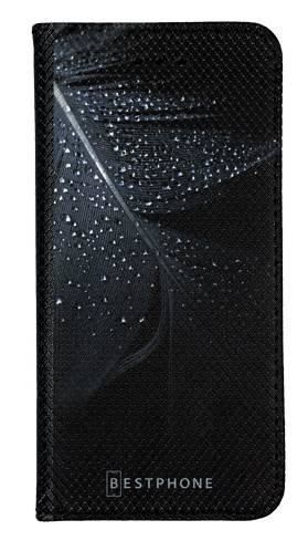 Portfel Wallet Case LG G8 ThinQ czarne pióro