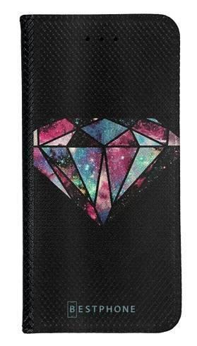 Portfel Wallet Case LG G8 ThinQ kolorowy diament