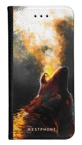 Portfel Wallet Case LG G8 ThinQ mroczny jeleń