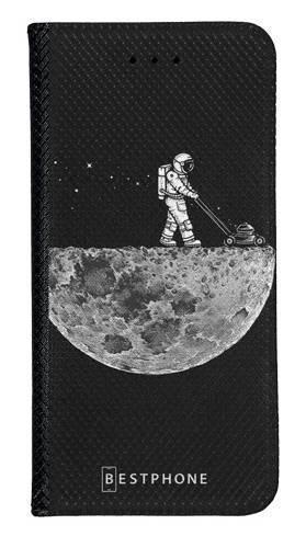 Portfel Wallet Case LG K40 astronauta i księżyc