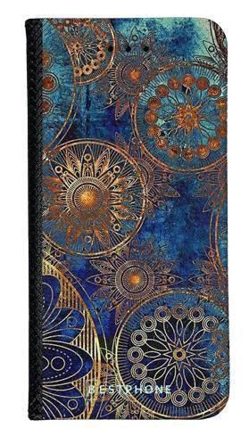 Portfel Wallet Case LG K40 azteckie kształty