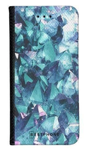 Portfel Wallet Case LG K40 kryształ