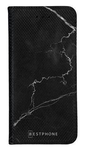 Portfel Wallet Case LG K40 marmur czarny