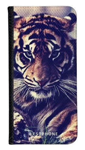 Portfel Wallet Case LG K40 mroczny tygrys