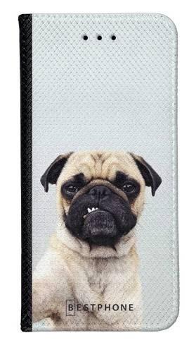 Portfel Wallet Case Samsung Galaxy A5 grumpy mops
