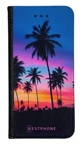Portfel Wallet Case Samsung Galaxy A5 wieczorne palmy