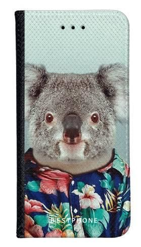 Portfel Wallet Case Samsung Galaxy A60 koala w koszuli
