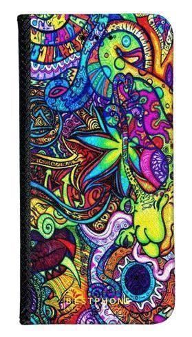 Portfel Wallet Case Samsung Galaxy A60 psychodela