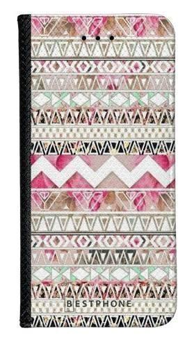 Portfel Wallet Case Samsung Galaxy A60 różowy aztec