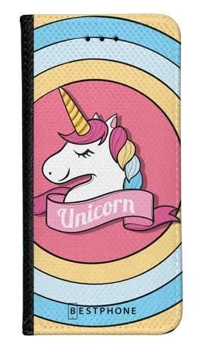 Portfel Wallet Case Samsung Galaxy A60 unicorn