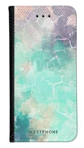 Portfel Wallet Case Samsung Galaxy A60 zielony kamień
