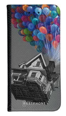 Portfel Wallet Case Samsung Galaxy A7 2018 dom balony