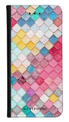 Portfel Wallet Case Samsung Galaxy Core Prime kolorowe płytki
