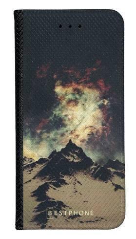 Portfel Wallet Case Samsung Galaxy Core Prime zorza nad górami