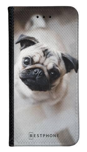 Portfel Wallet Case Samsung Galaxy Note 10 Pro słodki mops