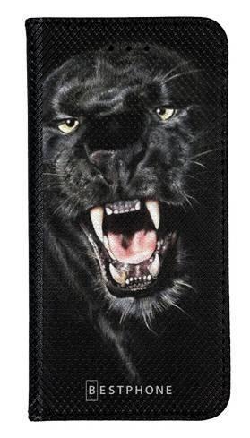 Portfel Wallet Case Samsung Galaxy Note 10 groźna puma