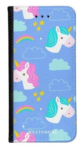 Portfel Wallet Case Samsung Galaxy Note 10 jednorożce