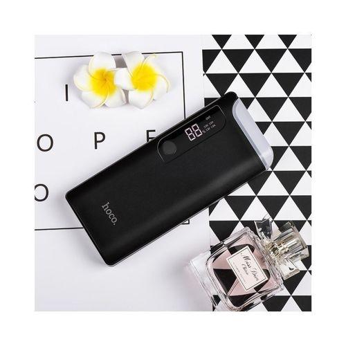 Power Bank Powerbank 15000mAh Hoco LCD B27 bateria zewnętrzna czarny