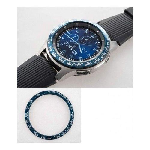 RINGKE obudowa nakładka BEZEL STYLING GALAXY WATCH 46MM ALUMINUM BLUE