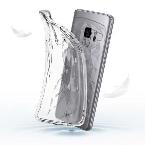 Ringke Air Prism designerskie żelowe etui pokrowiec 3D Samsung Galaxy S9 G960 różowy  (APSG0018-RPKG)