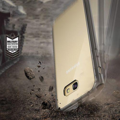 Ringke Fusion etui pokrowiec z żelową ramką Samsung Galaxy A5 2017 A520 szary (FSSG0014-RPKG)