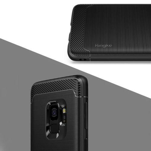 Ringke Onyx wytrzymałe etui pokrowiec Samsung Galaxy S9 G960 czarny (OXSG0006-RPKG)