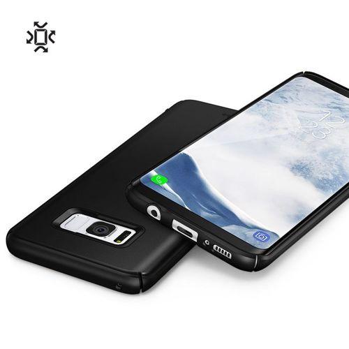 Ringke Slim ultracienkie etui pokrowiec Samsung Galaxy S8 G950 czarny (SLSG0008-RPKG)