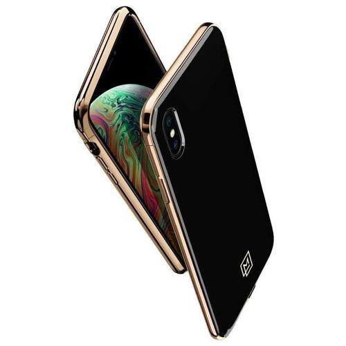 SPIGEN LA MANON ETUI IPHONE XS MAX GOLD BLACK
