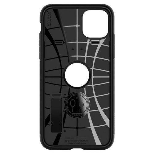 SPIGEN SLIM ARMOR IPHONE 11 PRO BLACK + Szkło SPIGEN FC