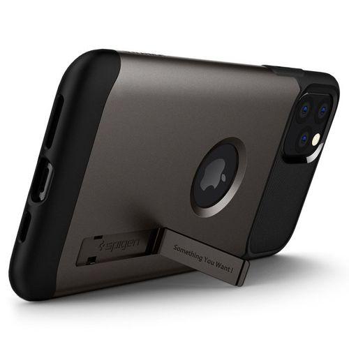 SPIGEN SLIM ARMOR IPHONE 11 PRO MAX GUNMETAL +szkło 5D