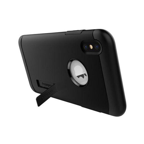 SPIGEN SLIM ARMOR IPHONE XS MAX BLACK +szkło 3MK HG Lite