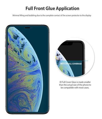 SZKŁO HARTOWANE RINGKE ID GLASS IPHONE XR BLACK