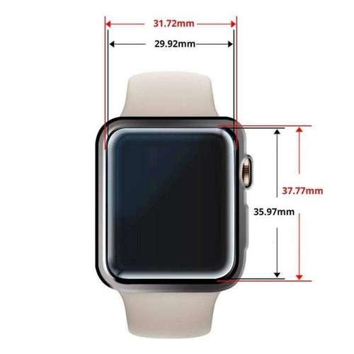 SZKŁO HARTOWANE WHITESTONE DOME GLASS APPLE WATCH 4/5 (44MM) CLEAR
