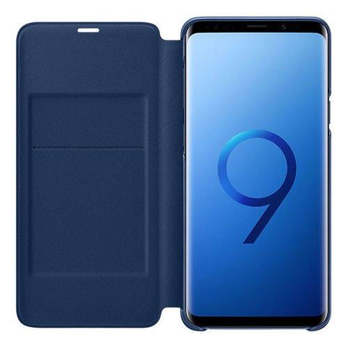 Samsung LED View Cover etui pokrowiec z wyświetlaczem LED Samsung Galaxy S9 Plus G965 niebieski