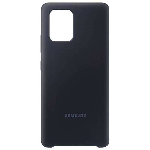 Samsung Silicone Cover gumowe silikonowe etui pokrowiec Samsung Galaxy S10 Lite czarny (EF-PG770TBEGEU)
