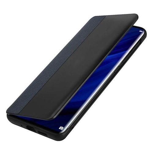 Sleep Case pokrowiec etui z klapką typu Smart Cover Huawei P30 Pro niebieski