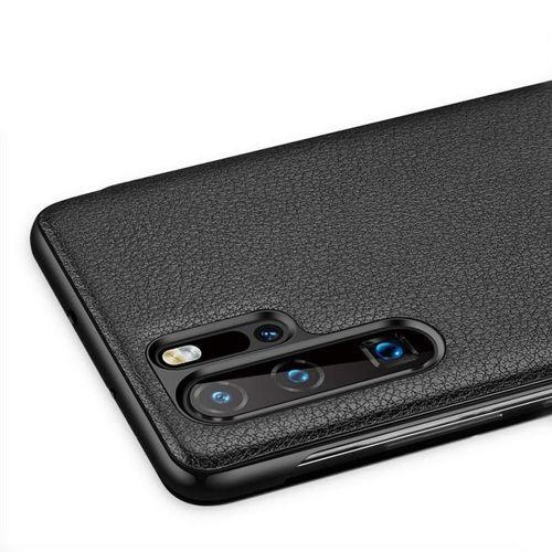 Sleep Case pokrowiec etui z klapką typu Smart Cover Huawei P30 różowy
