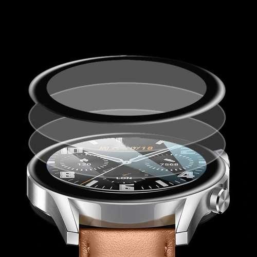 Szkło Hybrydowe FULL 3D Huawei Watch GT 2e 46mm czarny