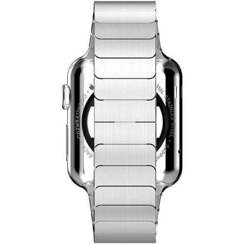 TECH-PROTECT LINK opaska pasek bransoleta BAND APPLE WATCH 1/2 (42MM) SILVER