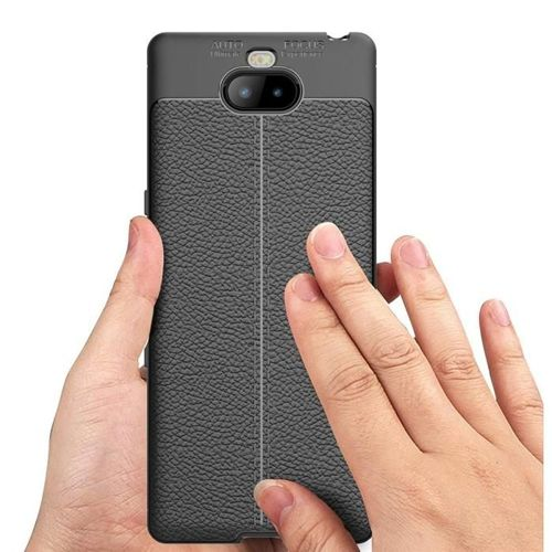 TECH-PROTECT TPULEATHER SONY XPERIA 10 BLACK