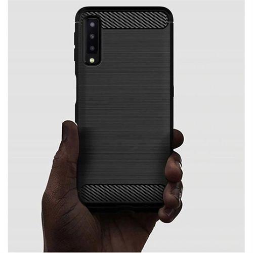TECH-PROTECT etui TPUCARBON GALAXY A7 2018 BLACK
